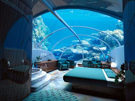 Hoteles y restaurantes bajo el agua i guinea por descubrir Imagenes de hoteles bajo el agua